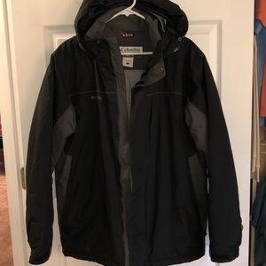 NWOT Waterproof Columbia Jacket Men's Large